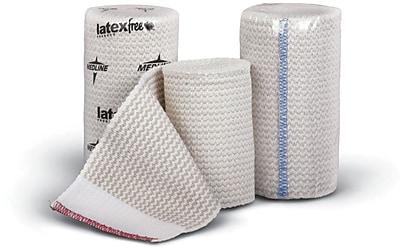 Matrix® Non-sterile Elastic Bandages, White, 5 yds L x 4