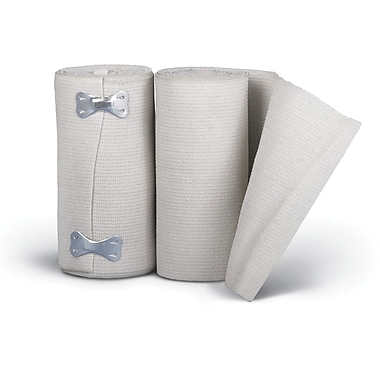 Sure-Wrap® Non-sterile Elastic Bandages, White, 5 yds L x 6