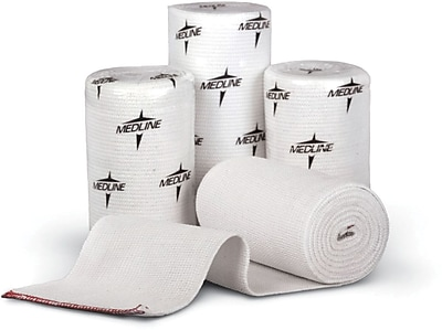 Swift-Wrap® Non-sterile Elastic Bandages, White, 5 yds L x 2