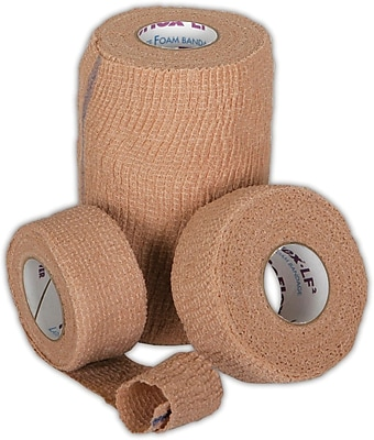 Co-Flex® LF2 Latex-free Non-sterile Cohesive Bandages, Tan, 5 yds L, 24/Pack