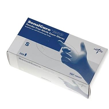 SensiCare® Ice Powder-Free Latex-Free Nitrile Exam Gloves, Blue, Medium, 9