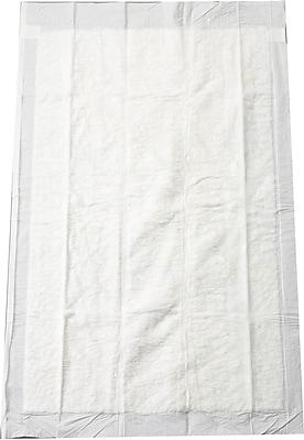 Medline Adult Standard Wingfold Briefs, White, Medium, 100/Pack