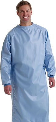 Blockade® 2-ply Surgeons Gown, Misty Green, XL, Tie Neck and Back, Dozen