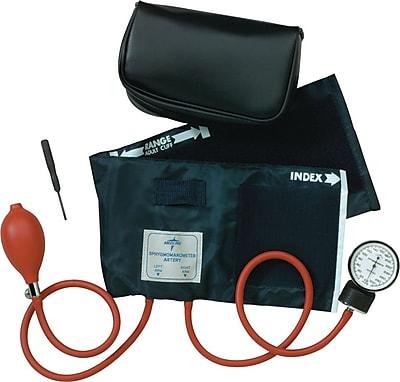 Medline Neoprene Handheld Aneroid Sphygmomanometers, Black, Infant