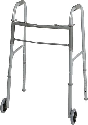 Guardian® Two-button Folding Walker with 5