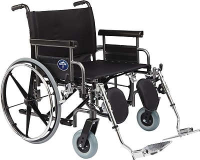 Medline Excel Shuttle Wheelchair, 26