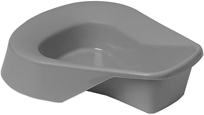 Medline Pontoon Bedpans, Translucent Pigment Free, 14
