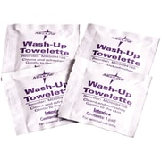 "Medline Wash-up Towelettes, 7 1/2"" x 4 1/2"" Size, 1000/Pack"