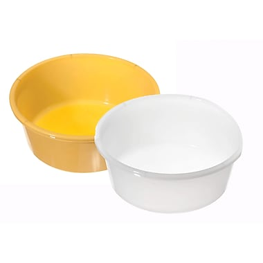 Medline Round Plastic Washbasins