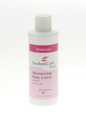 Soothe & Cool® Moisturizing Body Lotions, 4 oz, 48/Pack