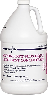 Medline Low-foam Detergents, 2 1/2 gal Size, 2/Pack