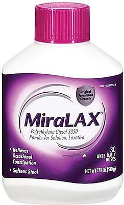 Miralax® Powders, 8 1/3 oz, Powder