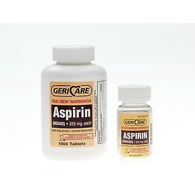 Medline OTC90110 Aspirin Tablets Compare to Bayer 1000 Tablets