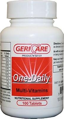 Generic OTC Multi-vitamin Tablets, 100/Pack, 24/Pack