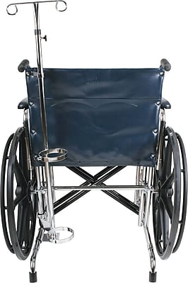 Medline Wheelchair Oxygen Tank Holder, Bariatric, Excel 3000 Wheelchair Compatible