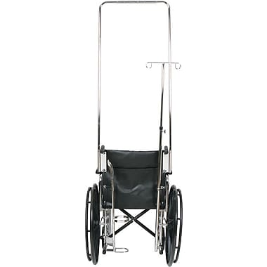 Medline Wheelchair I.V. Pole Attachment, Bariatric, Excel 3000 Wheelchair Compatible