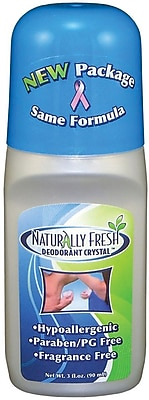 Naturally Fresh Roll-on Deodorants, 3 oz, 12/Pack