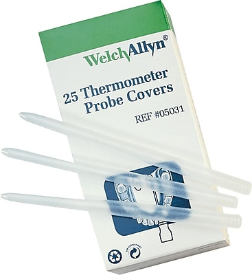 SureTemp® Thermometer Probe Covers 250/Sleeve, Latex, 250/Box