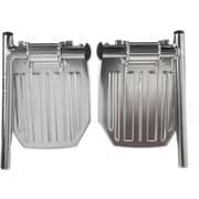 Medline Aluminum Footplate, Non Bariatric, Excel 2000 Transport Wheelchair Compatible