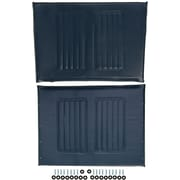Medline Wheelchair Upholstery Set, Bariatric, Navy Extra Wide Wheelchair Compatible