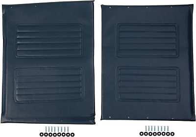 Medline Wheelchair Upholstery Set, Non Bariatric, Extra Wide Wheelchair Compatible