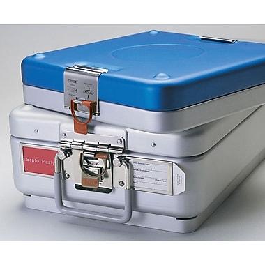 Medline TASKIT Surgical Instrument Container Tamper-evident Seals, Blue