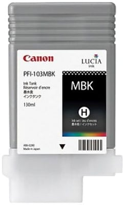 Canon PFI-103MBK Matte Black Ink Cartridge (2211B001AA)