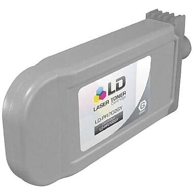 Canon PFI-702GY Gray Ink Cartridge (2221B001AA), High Yield