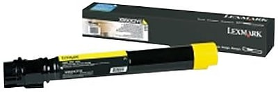 Lexmark Yellow Toner Cartridge (X950X2YG), Extra High Yield