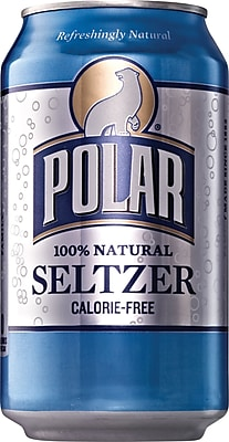 Polar® Classic Seltzer, 12 oz. Cans, 24/Pack (00220)