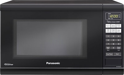 Panasonic 1.2 CU. FT. Countertop Microwave Oven, Black