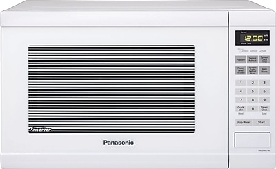 Panasonic 1.2 CU. FT. Countertop Microwave Oven, White