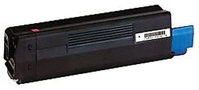 Okidata Toner Cartridge, 43324475, High Yield, Magenta