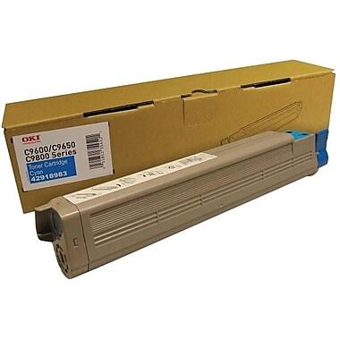 OKI Cyan Toner Cartridge (43837127)