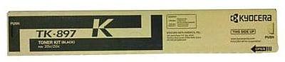 Kyocera Mita TK-897K Black Toner Cartridge (1T02K00US0), Standard