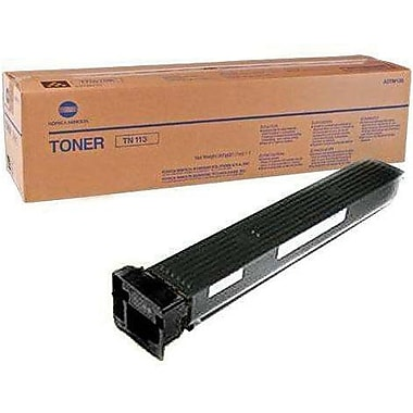 Konica Minolta TK-413K Black Toner Cartridge (A0TM131), High Yield