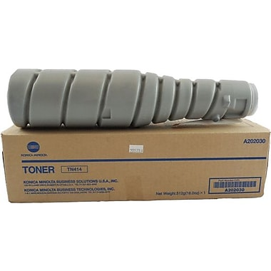 Konica Minolta TN-414 Black Toner Cartridge (A202030), High Yield