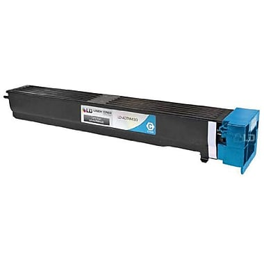 Konica Minolta TN-613C Cyan Toner Cartridge (A0TM430), High Yield