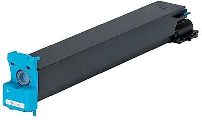 Konica Minolta TN-611C Cyan Toner Cartridge (A070430), High Yield