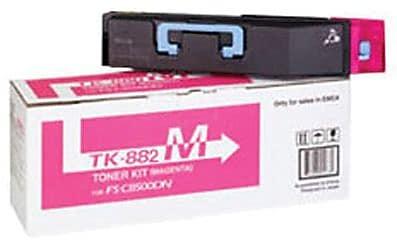 Kyocera Mita TK-882M Magenta Toner Cartridge (1T02KABUS0)