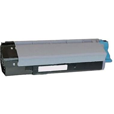 OKI Cyan Toner Cartridge (43324476), High Yield
