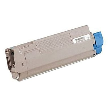 OKI Cyan Toner Cartridge (44059235), High Yield