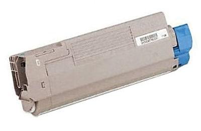 Okidata Toner Cartridge, 44059235, High Yield, Cyan