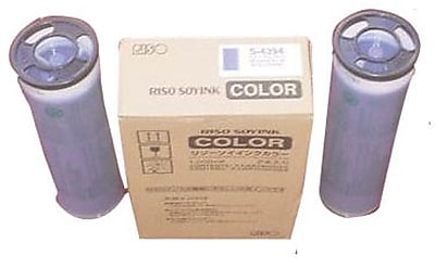 Risograph Blue Ink Cartridge (S-4394), 2/Pack