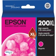 Epson 200XL, Magenta Ink Cartridge, High Capacity (T200XL320)
