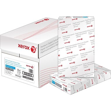 Xerox Carbonless Paper, 3 Part, Straight, 8-1/2