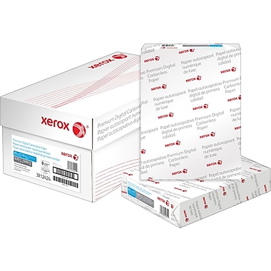 Xerox Carbonless Paper, 3 Part, Reverse, 8-1/2
