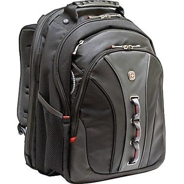 SwissGear® Legacy Black Backpack (WA-7329)