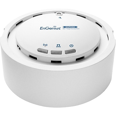 EnGenius® N-EAP350 KIT Indoor Wireless-N Access Point with Gigabit PoE Injector, Up to 300 Mbps
