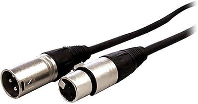 Comprehensive® XLRP-XLRJ-ST Microphone Cable, 6'